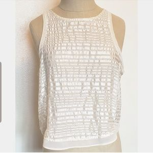 American Eagle Sparkly Tank Top